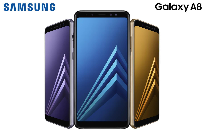 samsung galaxy a8 2018 smartphone letsgomobile. Black Bedroom Furniture Sets. Home Design Ideas