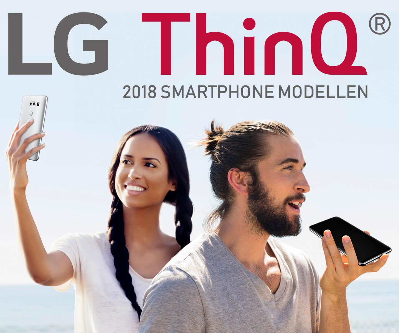 LG ThinQ smartphones