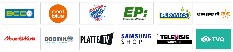 QLED TV verkooppunten