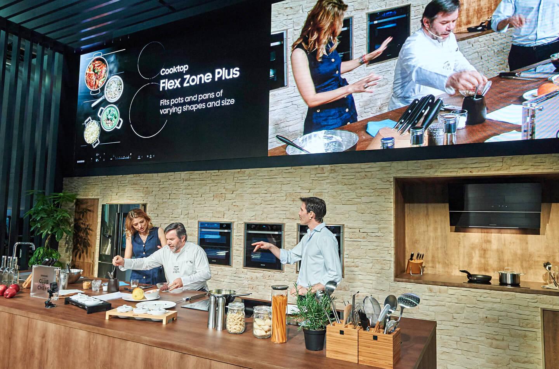 Samsung inbouw keukenapparatuur