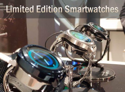 Samsung Limited Edition smartwatch