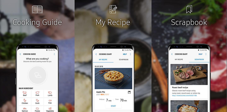 Oven met smartphone bedienen