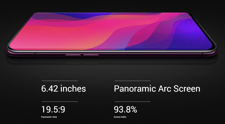 Full screen smartphones