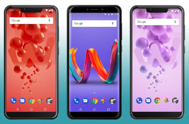 Wiko fullscreen smartphones