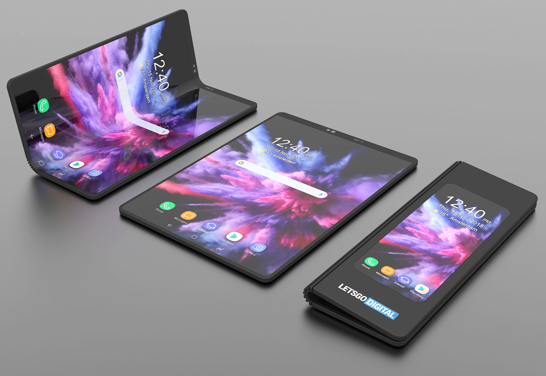 Samsung opvouwbare smartphone