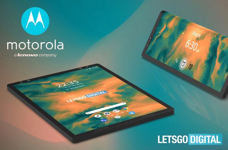 Motorola opvouwbare smartphone