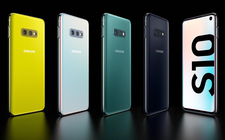 Galaxy S10 kleuren