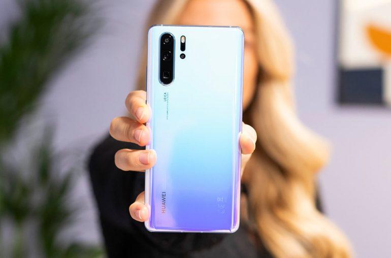 Huawei P30 smartphones