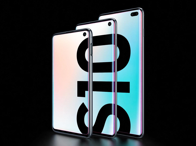 Samsung Galaxy S10 modellen