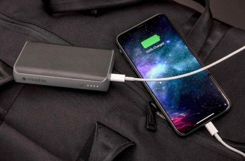 Mobiele telefoon batterij opladen