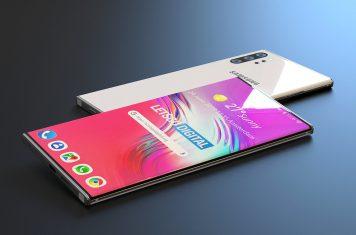 Samsung Galaxy Note 10 smartphone