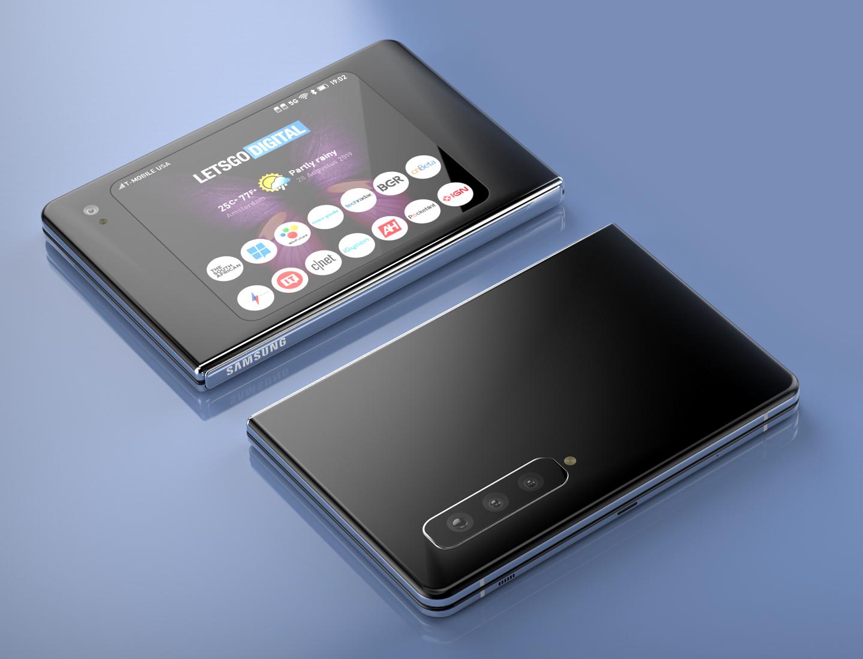 Galaxy Fold 2 vouwtelefoon