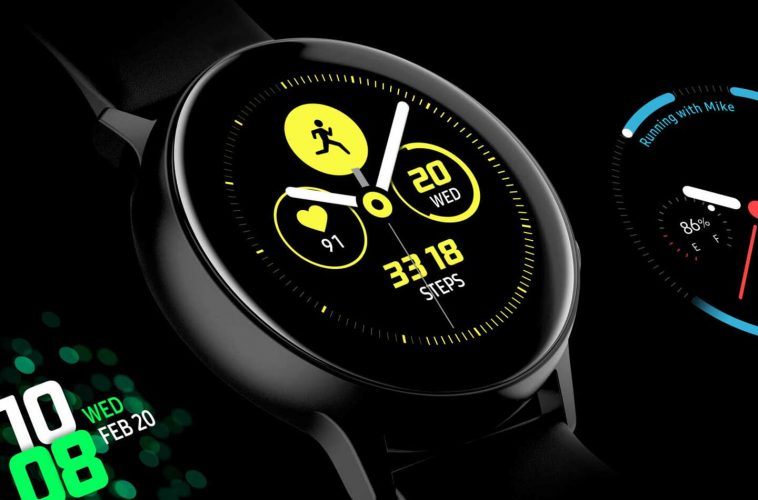 Samsung Galaxy Watch Active 2 smartwatch