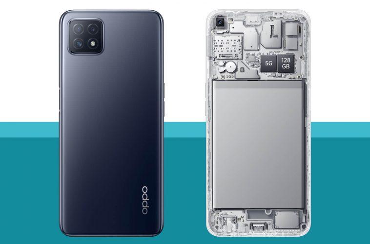 Oppo A73 5G telefoon
