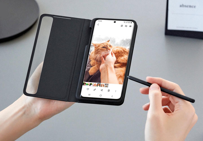 Samsung smartphone met S Pen