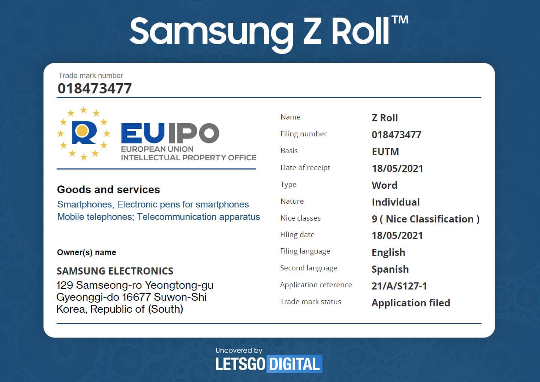 Samsung Z Roll