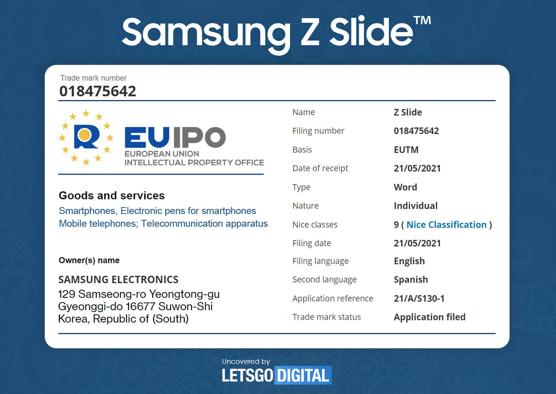 Samsung Z Slide