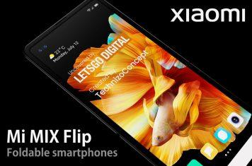 Xiaomi Mi Mix Flip opvouwbare telefoons