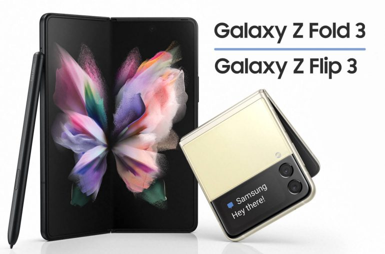 Samsung Galaxy Z Flip 3 Z Fold 3